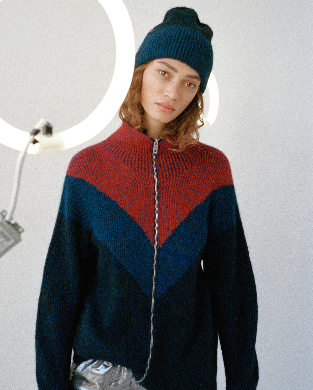 Jonie Zip-Up Sweater