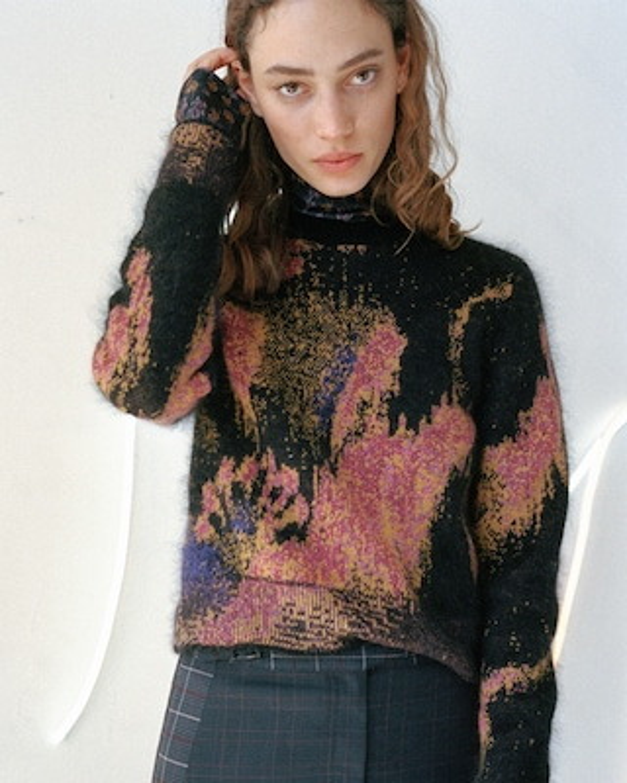 Fleur Crew Neck Sweater