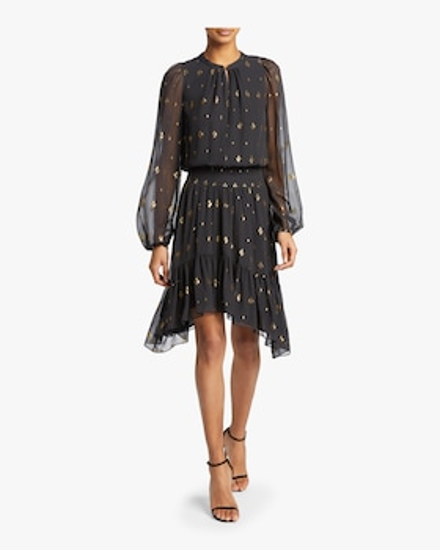 Sidney Diamond Filcoup Dress