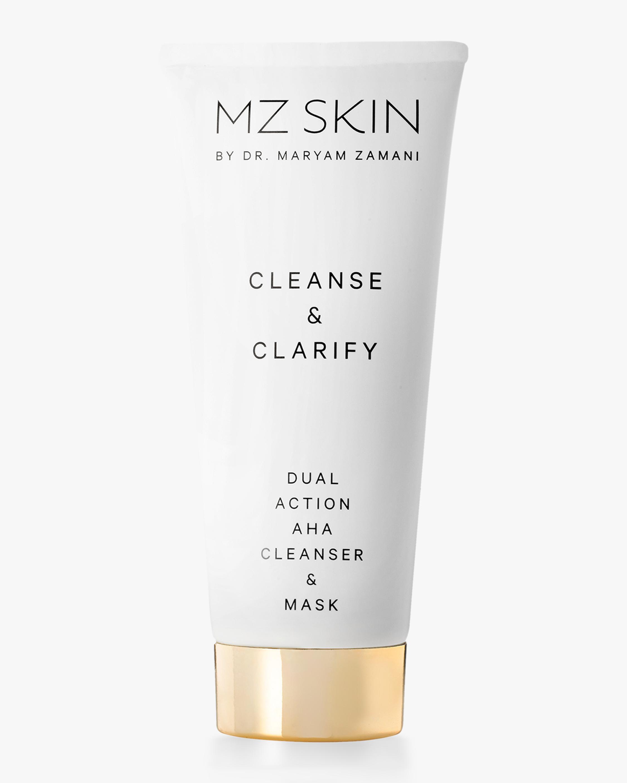 MZ Skin Cleanse & Clarify Dual Action AHA Cleanser & Mask 100ml 1
