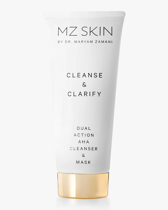 MZ Skin Cleanse & Clarify Dual Action AHA Cleanser & Mask 100ml 0
