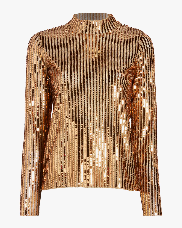 Gold Sequins Grace Top