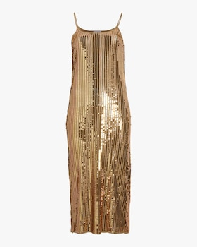 Gold Sequins Venus Dress