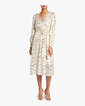 Katy Wrap Midi Dress