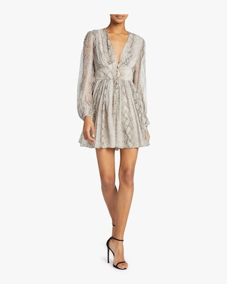 Corsage Fluted Playsuit