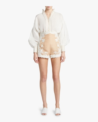 Corsage Lily Shorts