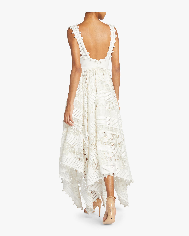 Corsage Embellished Dress ZIMMERMANN