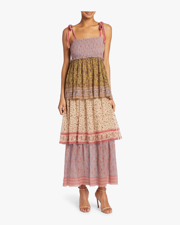 Juniper Tiered Tie Dress