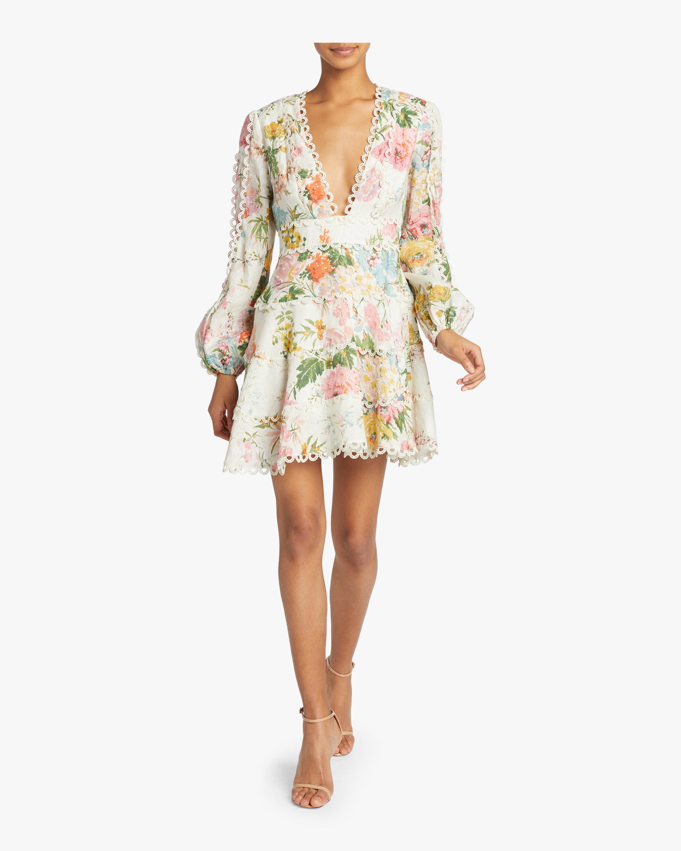 Heathers Flounce Short Dress