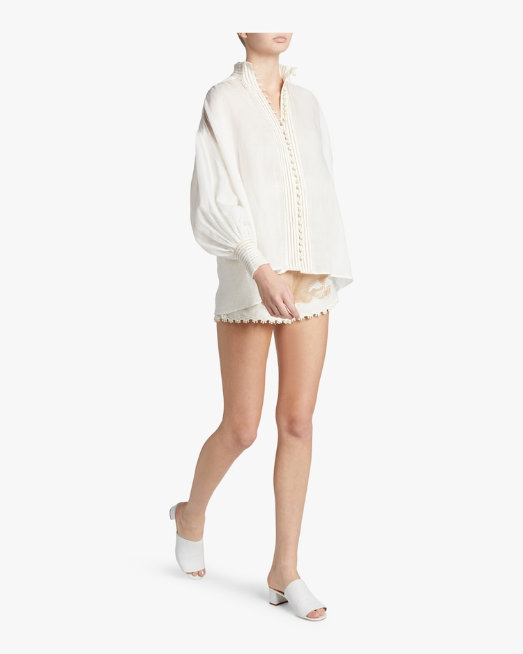 Corsage Linear Blouse ZIMMERMANN