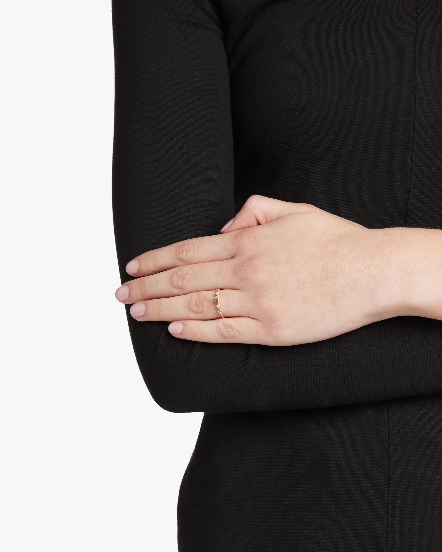 Diamond Baguette Dew Ring