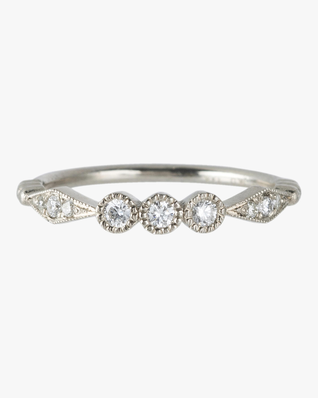 Three Diamond Kite Ring