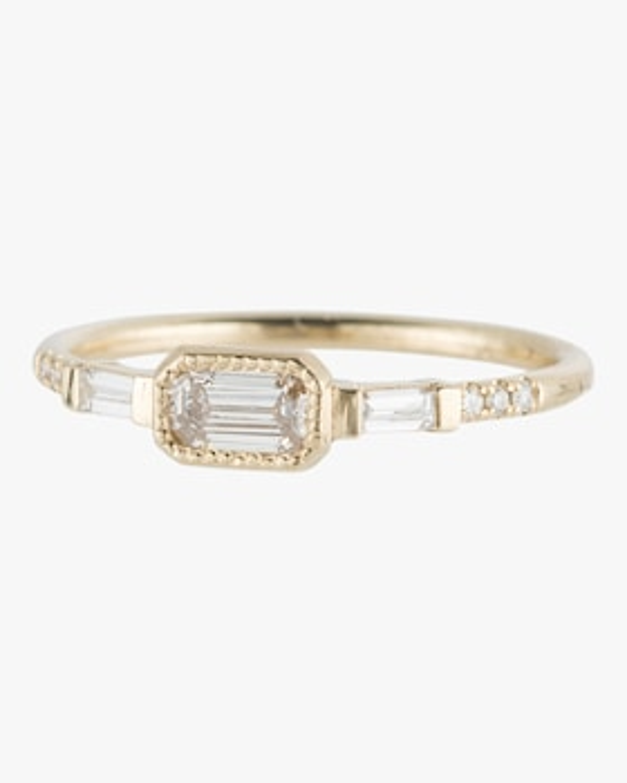 Diamond Ys Baguette Ring