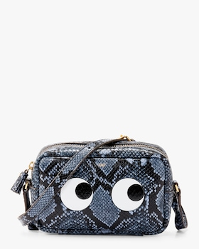 Python Mini Eyes Crossbody Bag