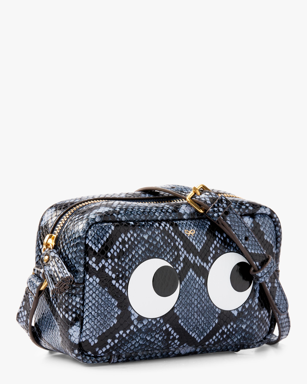 Python Mini Eyes Crossbody Bag