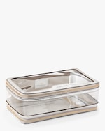 Anya Hindmarch Clear Plastic Inflight Case 1