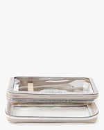 Anya Hindmarch Clear Plastic Inflight Case 2