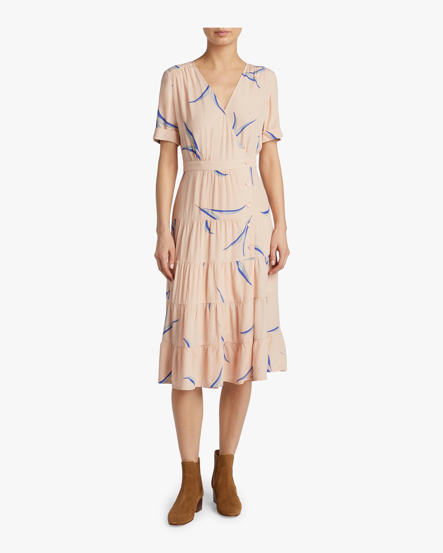 Tais Printed Midi Dress