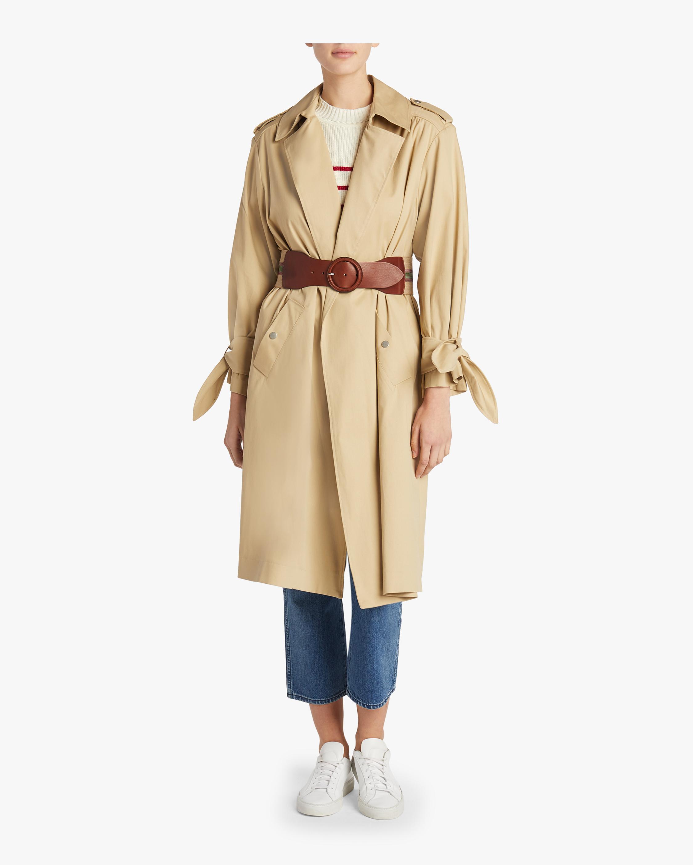 Balzac Belted Trench Coat