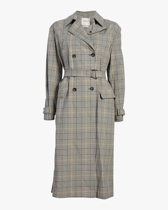 Isor Belted Trench Coat