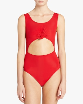 Knot One Piece Swimsuit