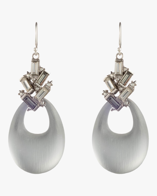 Crystal Baguette Cluster Earrings
