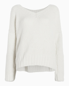Mystic V-Neck Cashmere Sweater