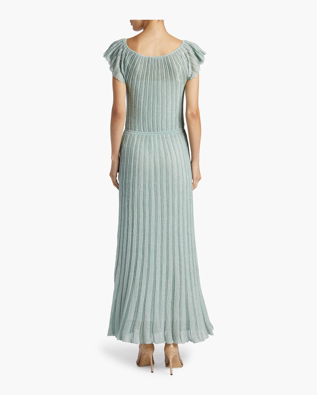 Flutter Sleeve Dress Missoni