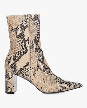 Exotic Belief Snake Print Boot