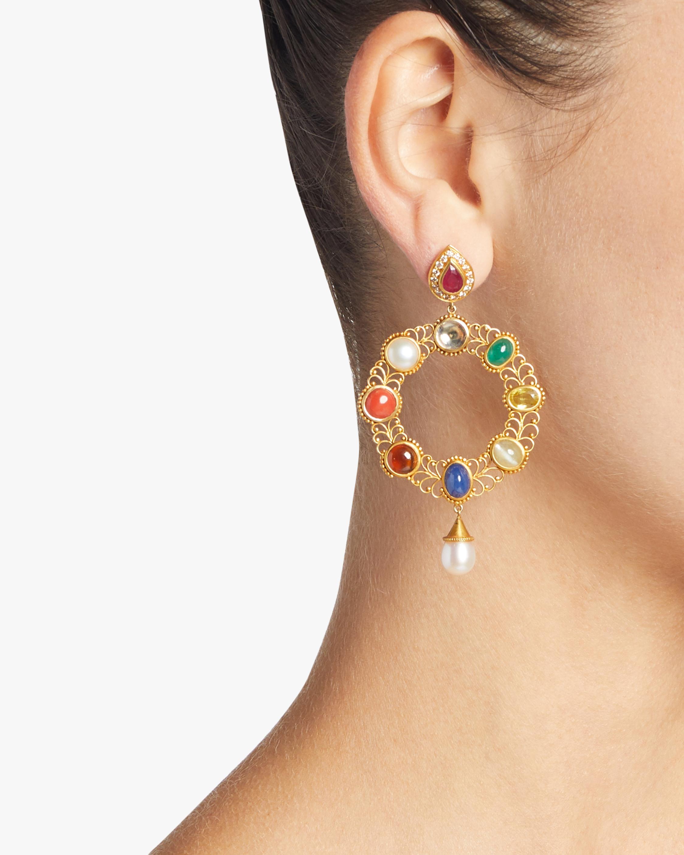 Navratna Earrings