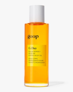 G.Day Black Pepper and Rose Hip Energy Body Oil 90ml