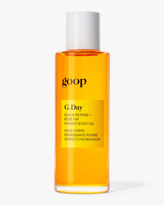 G.Day Black Pepper and Rose Hip Energy Body Oil 90ml