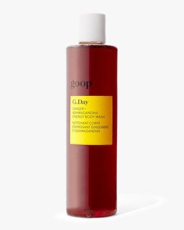 Goop G.Day Ginger and Ashwagandha Energy Body Wash 200ml 2