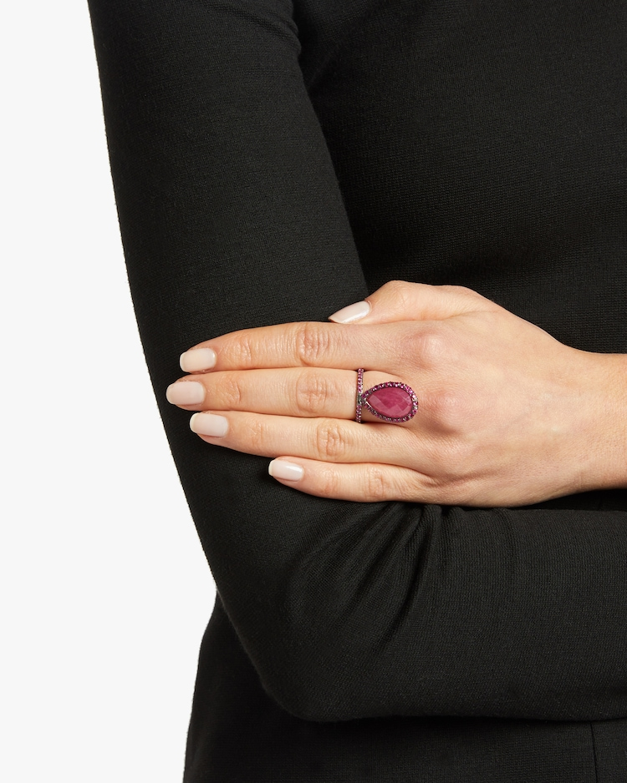 Large Ruby Flip Ring Nina Runsdorf