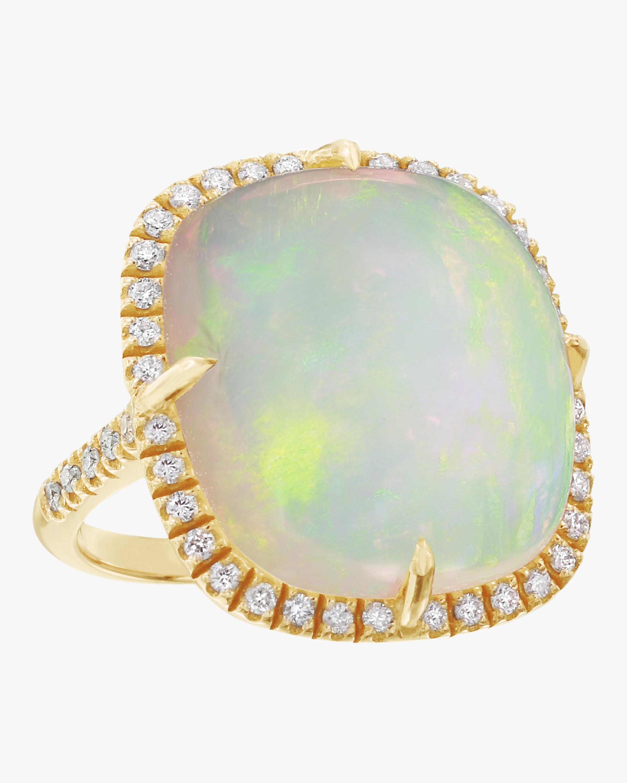 Opal Cushion Ring