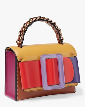 Fred Colorblocked Shoulder Bag