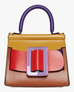 Karl 19 Colorblocked Top Handle Bag
