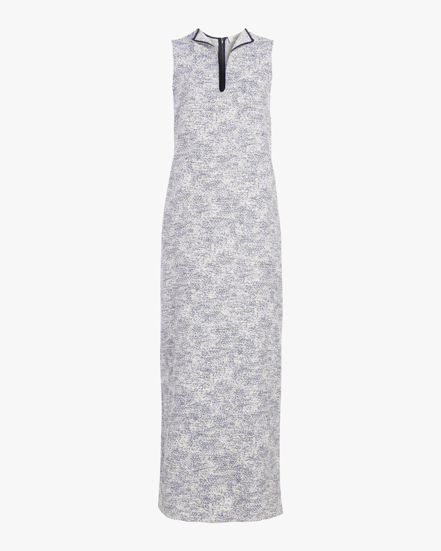 Tweed Column Gown