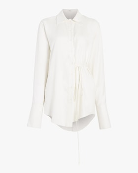 Silk Oversized Blouse