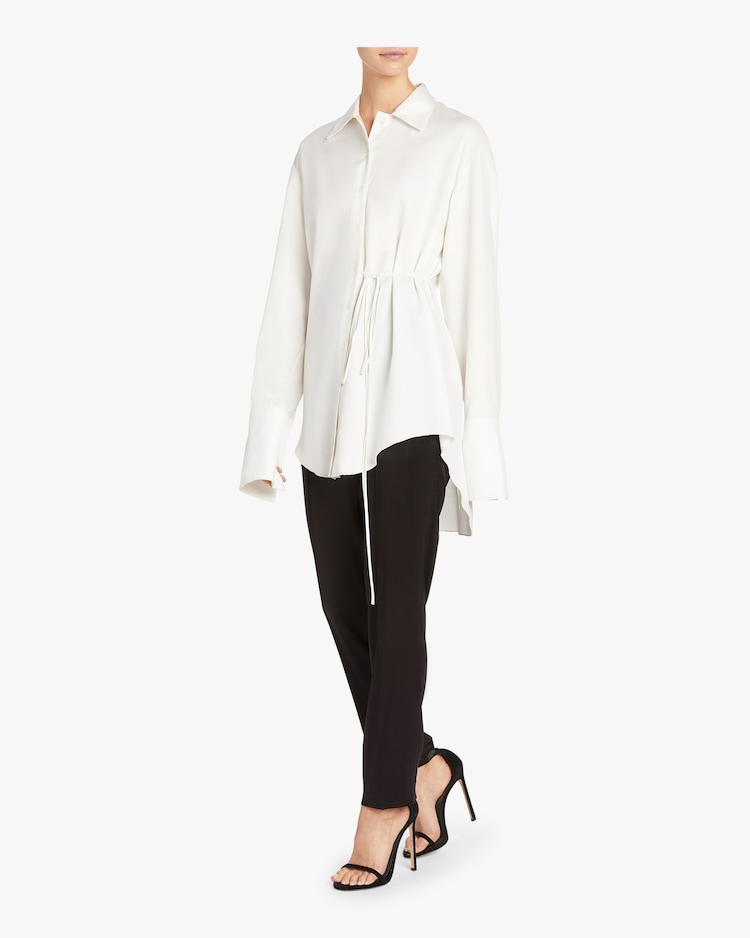 Silk Oversized Blouse Arias