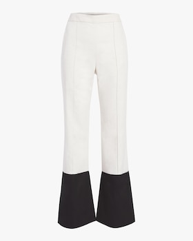 Two-Tone Flare Pants