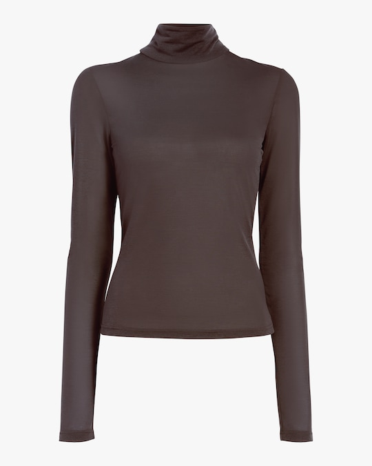 Arias Flared Turtleneck Top 0