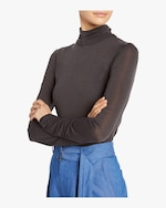 Arias Flared Turtleneck Top 3