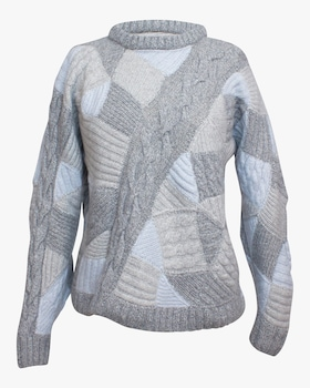 Sandra Cashmere Patchwork Sweater