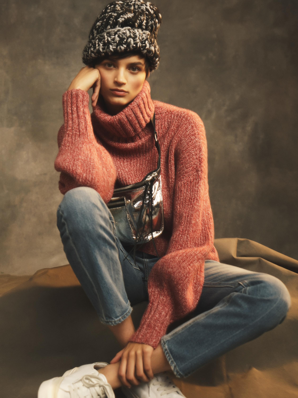 Agata Cashmere Turtleneck Sweater