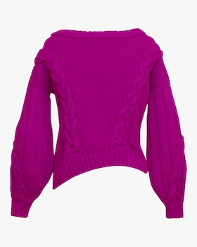Aurelia Cropped Pullover Sweater