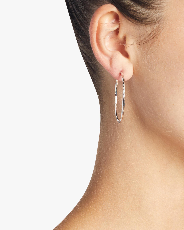 Classico Medium Squiggle Hoop Earrings