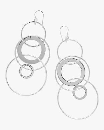 Classico Mixed Large Links Jet Set Earrings
