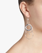 Ippolita Classico Mixed Large Links Jet Set Earrings 1
