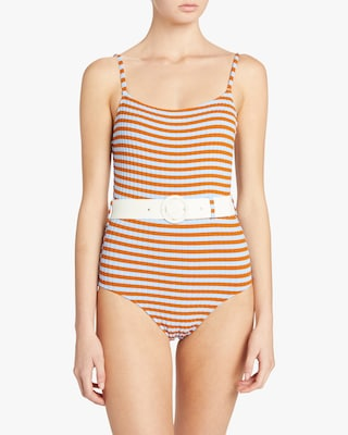 The Nina Belt One Piece Swimsuit